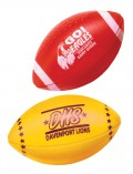 Printed Football with Stripe