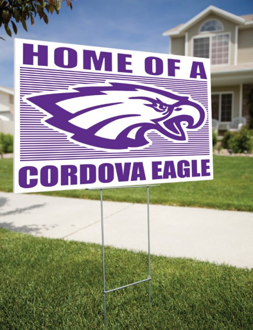 Yard Signs with Stand