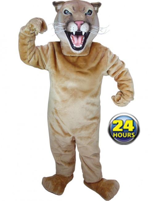 Cougar Mascot Uniform