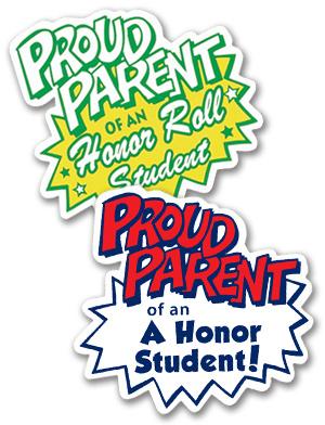 Proud Parent Buttons