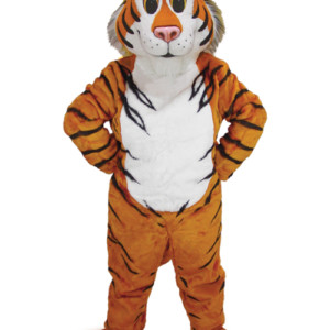 Friendly Tiger Mascot Uniform