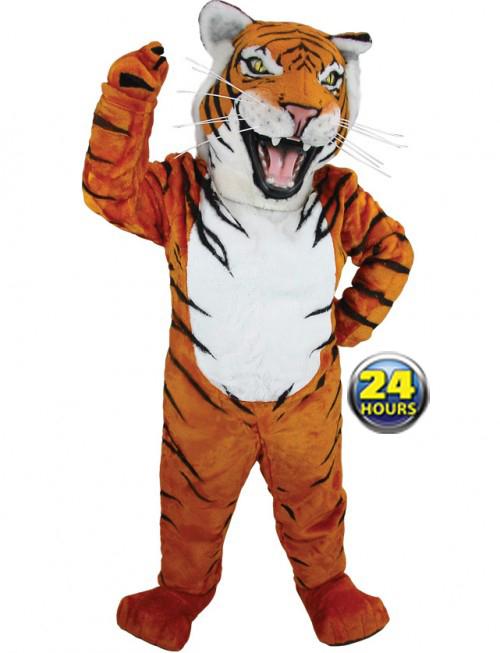Bengal Tiger Mascot Uniform