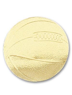 Gold Basketball Sticky Top
