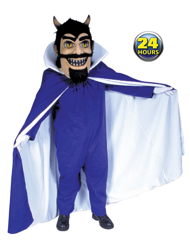 Blue Devil Mascot Uniform