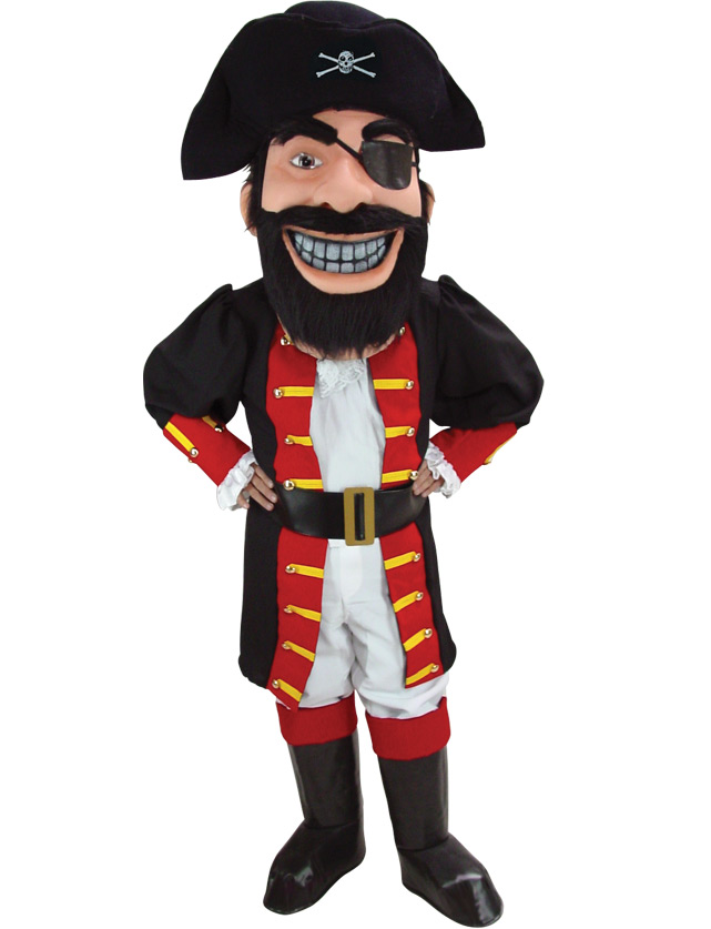 Pirate Mascot Uniform
