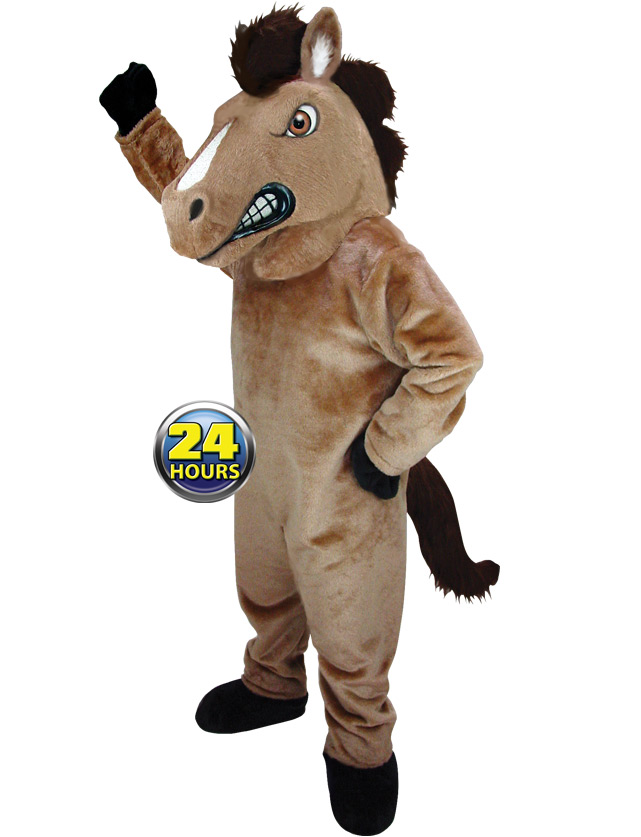 Mustang Mascot Uniform