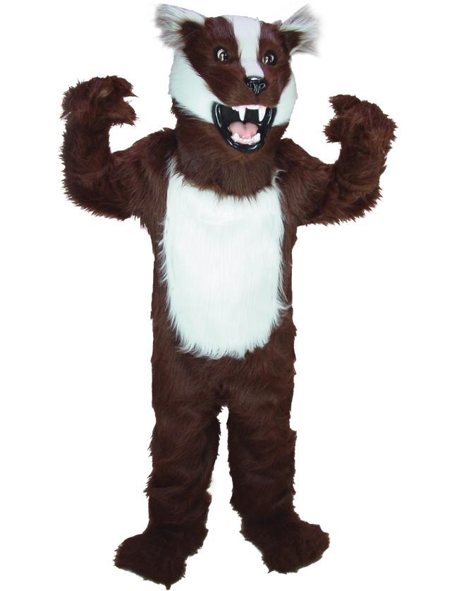 Badger Mascot Uniform