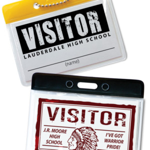 Horizontal ID Badge Holder