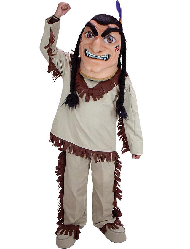 Indian Mascot Uniform
