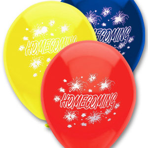 Homecoming Balloons
