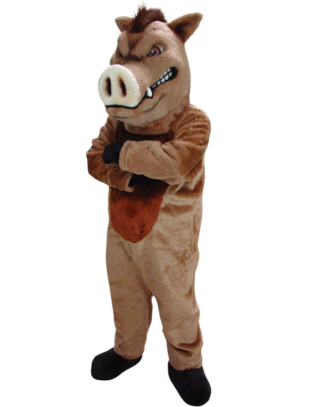 Boar Mascot Uniform