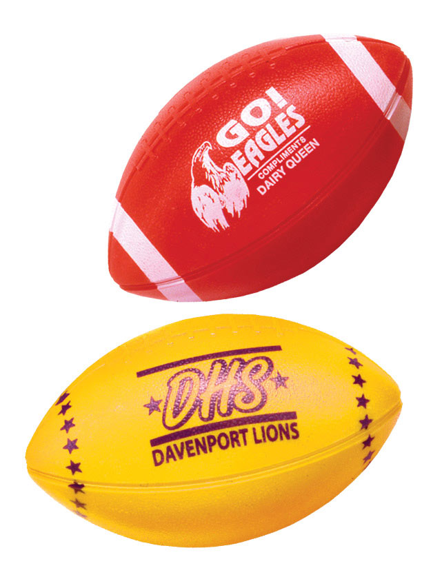 Striped Printed Footballs