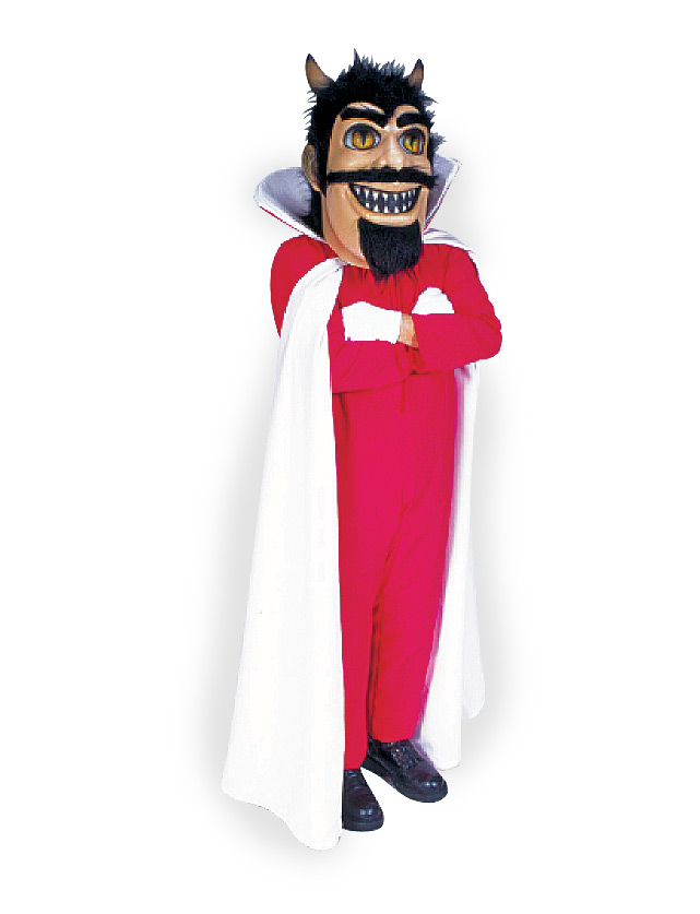 Red Devil Mascot Uniform