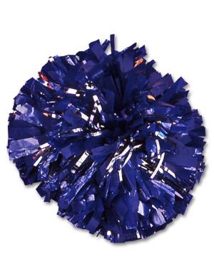 Plastic Pom w/ Glitter