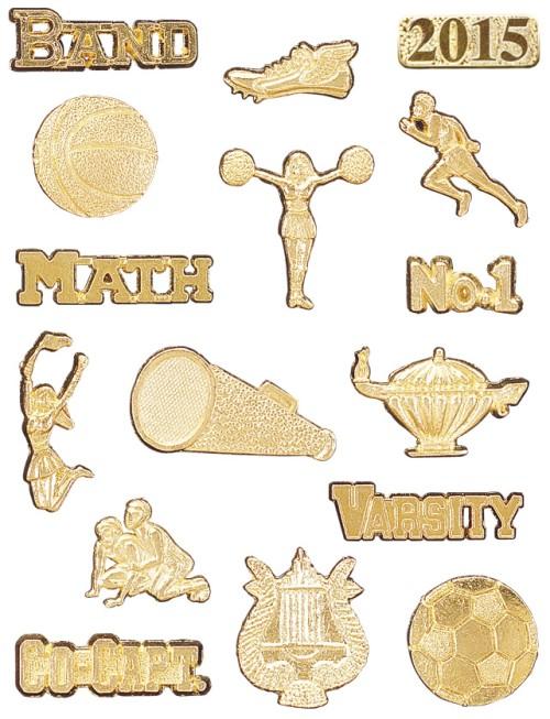 Metal Award Pins