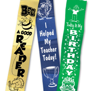 Stock Motivational Ribbons