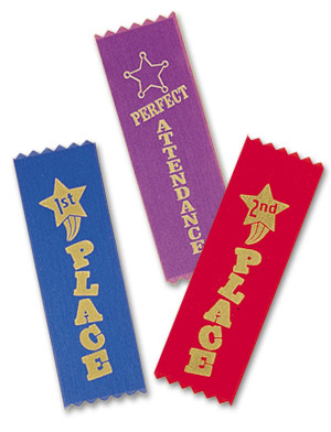 Stock Foil Stamped Ribbons
