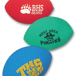 Printed Foam Footballs