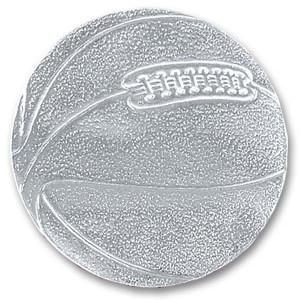 Silver Basketball Sticky Top