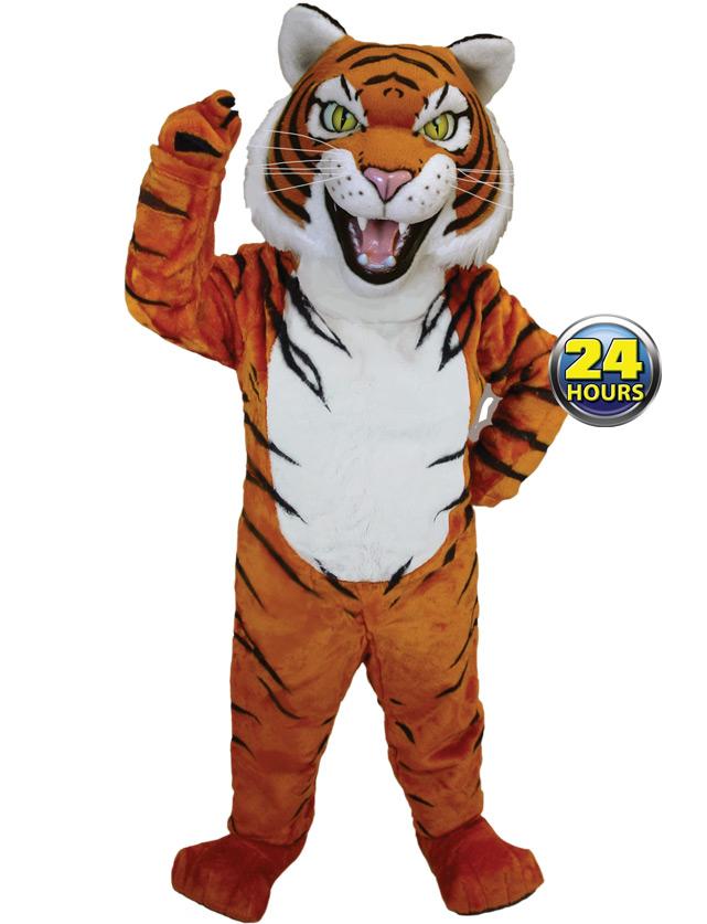 Siberian Tiger Mascot Uniform