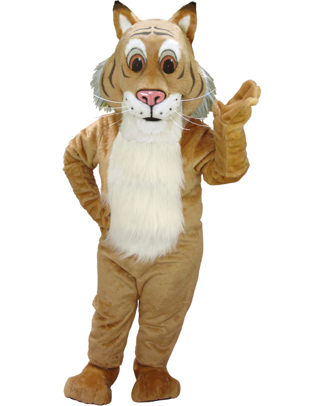 Bobcat Mascot Uniform