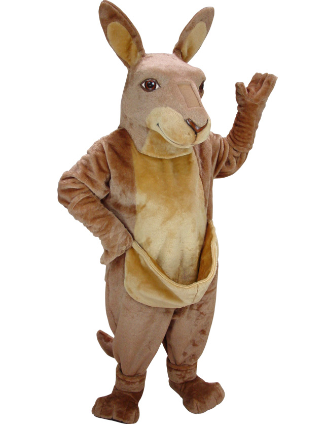 Kangaroo Mascot Uniform
