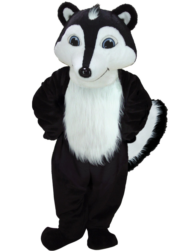 Skunk Mascot Uniform