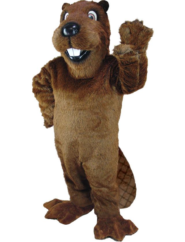 Beaver Mascot Uniform