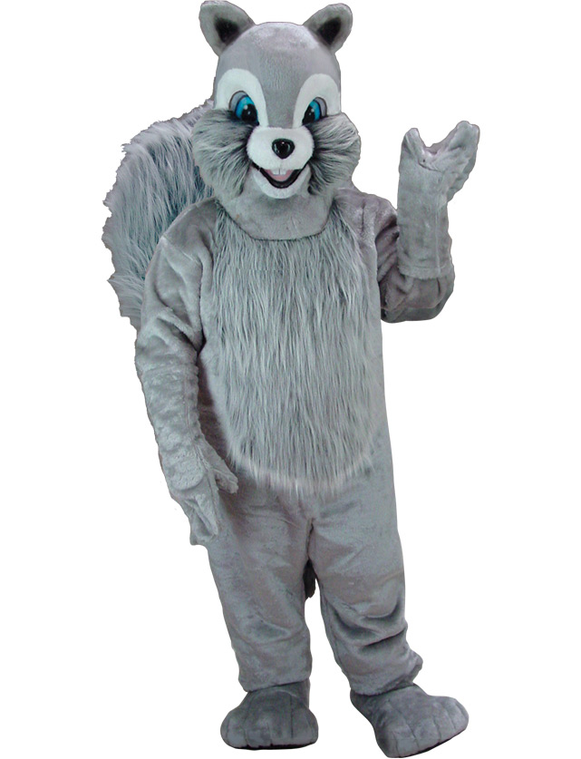 Squirrel Mascot Uniform