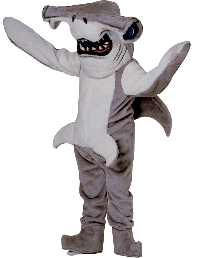 Hammerhead Mascot Uniform