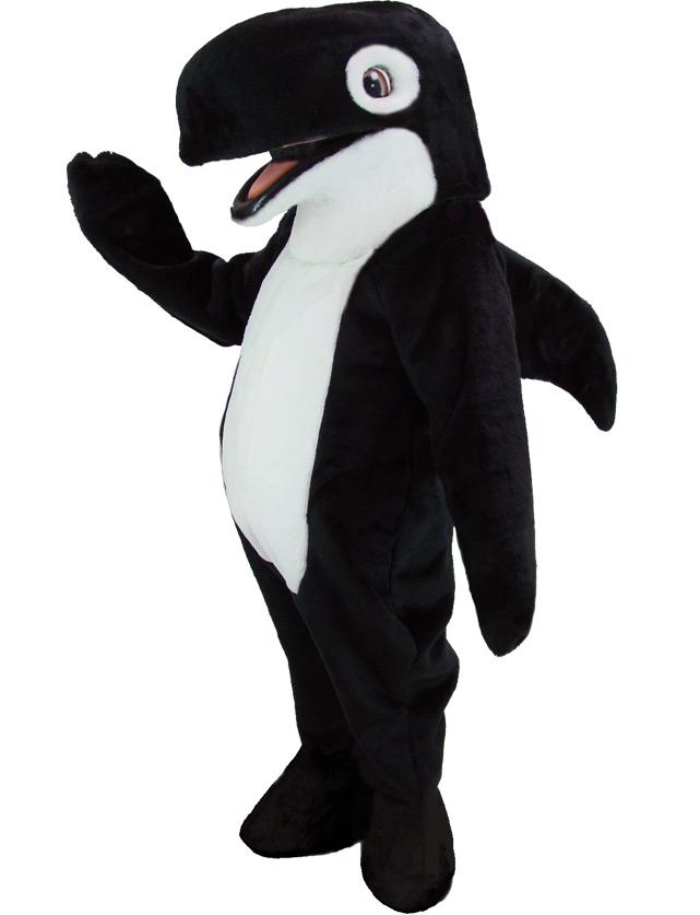 Orca Mascot Uniform