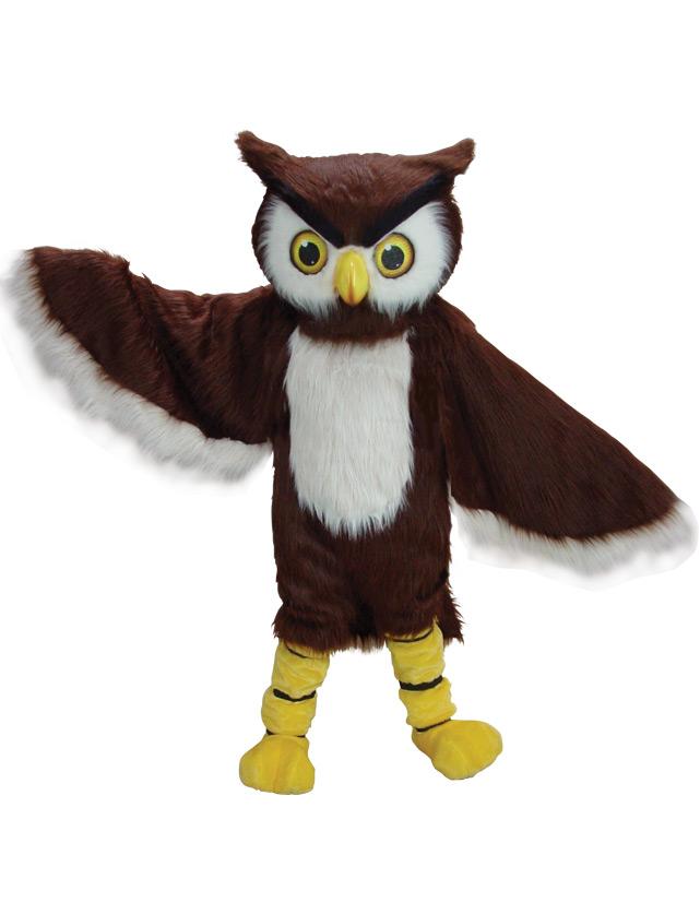 Owl Mascot Uniform