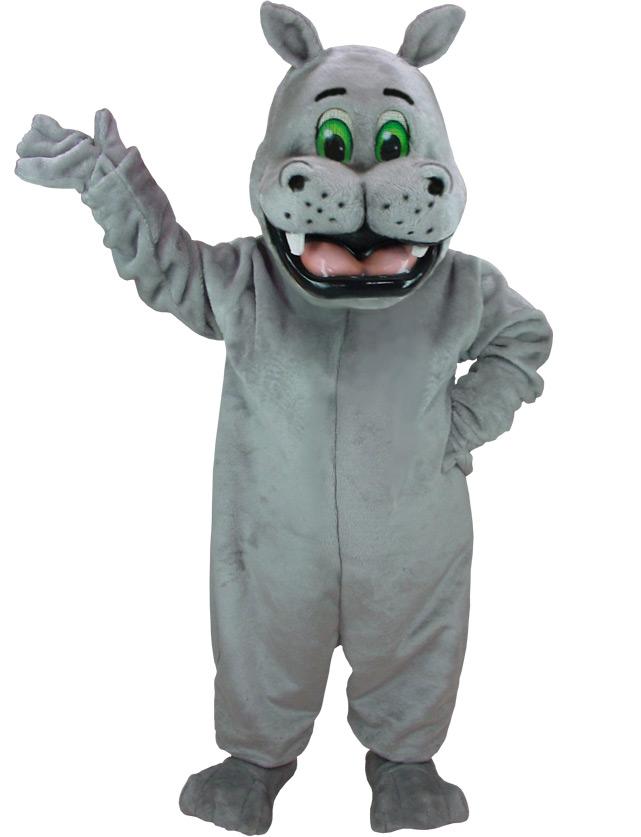 Hippo Mascot Uniform