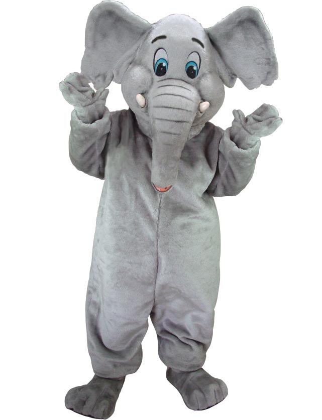 Elephant Mascot Uniform