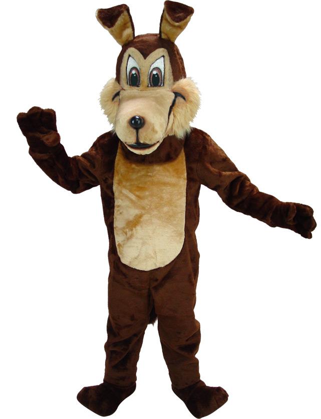 Coyote Mascot Uniform