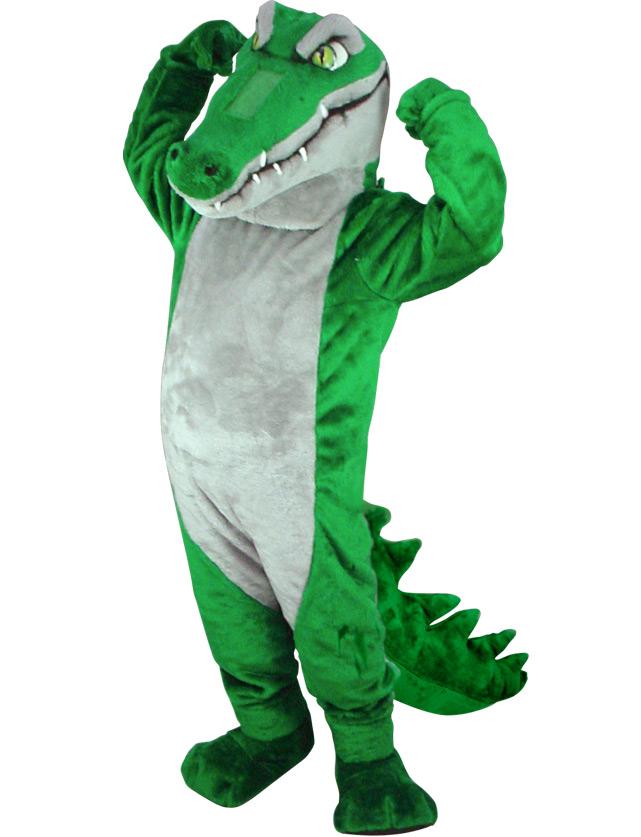 Crocodile Mascot Uniform