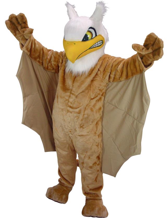 Griffin Mascot Uniform