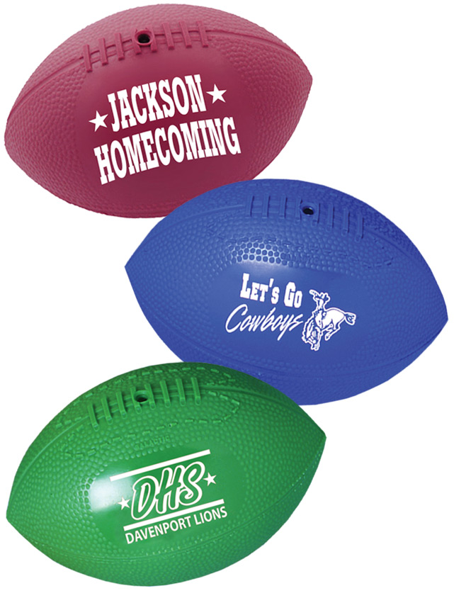 Printed Mini Vinyl Footballs