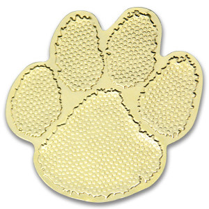Gold Paw Sticky Top