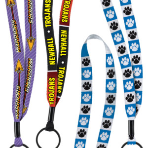1/2 Inch Dye-Sublimated Lanyards