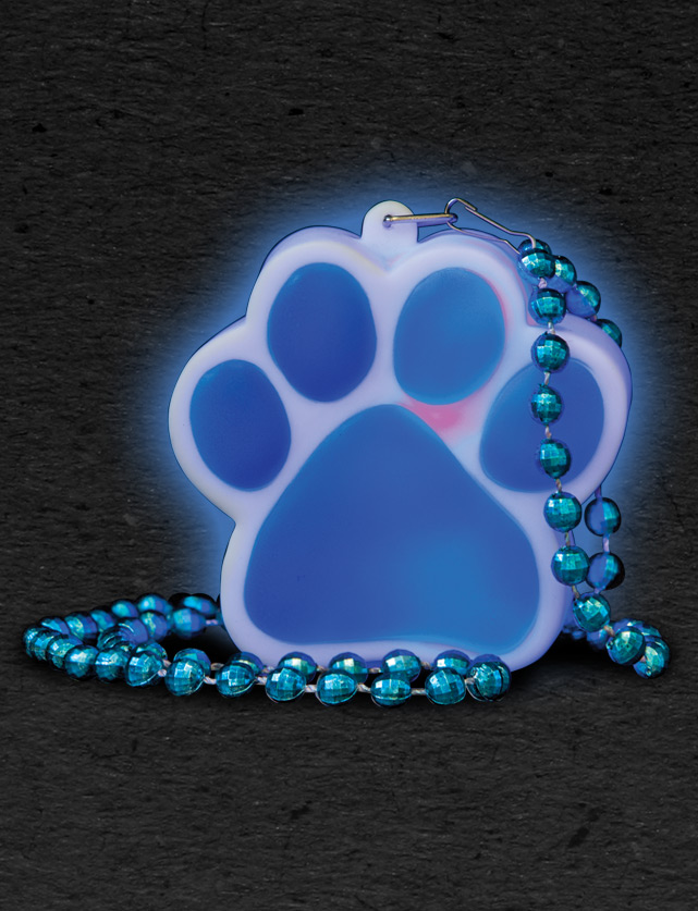 Lighted Paw Prints