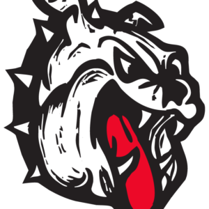 Bulldog Head Temporary Tattoos