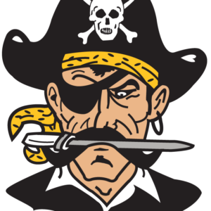 Gold Pirate Temporary Tattoos