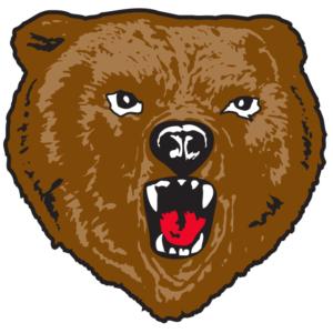 Bear Head Temporary Tattoos