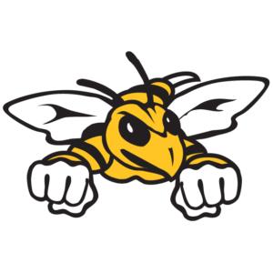 Gold Hornet Temporary Tattoos