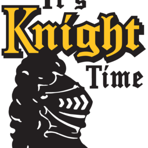 Gold It's Knight Time Temporary Tattoos