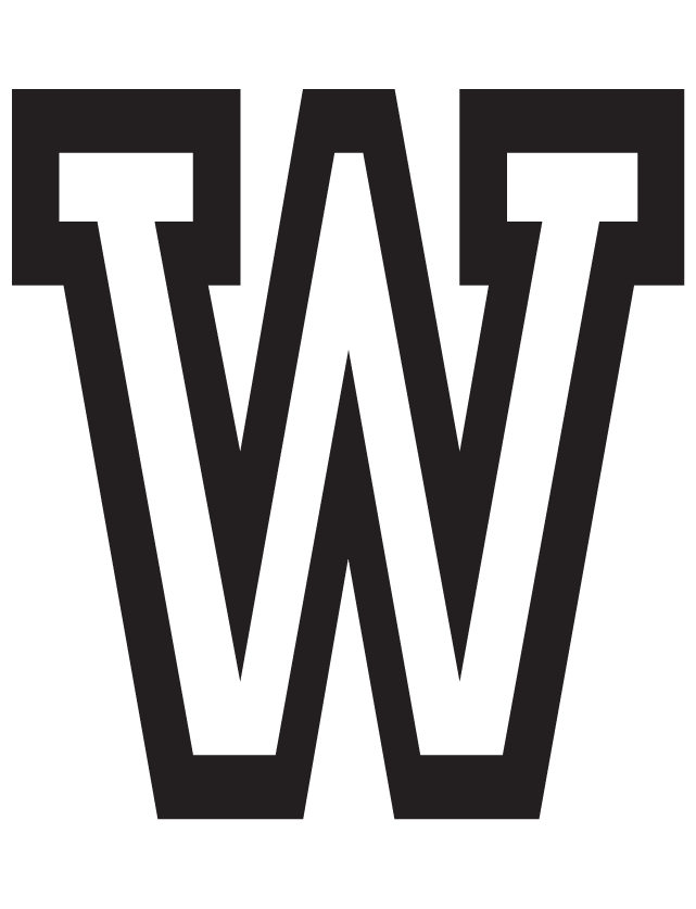 Letter W Temporary Tattoos