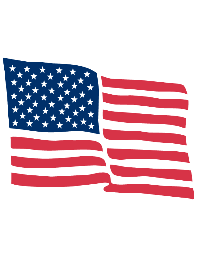 American Flag Temporary Tattoos