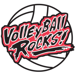 Volleyball Rocks Temporary Tattoos