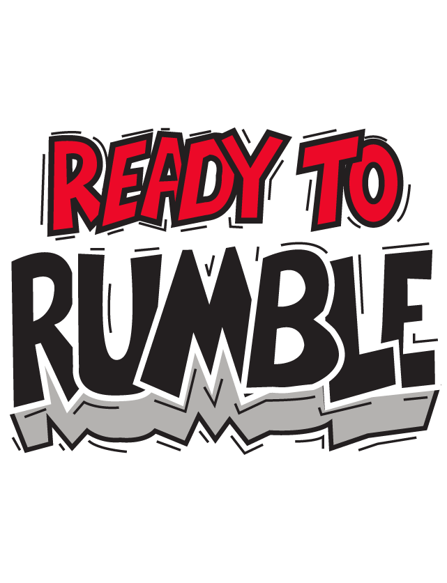 Ready To Rumble Temporary Tattoos